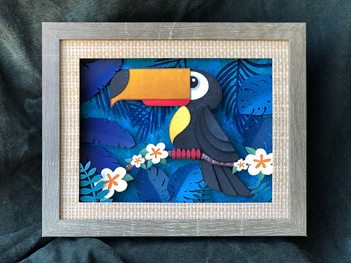 Toucan Paper Sculpture Limited Edition