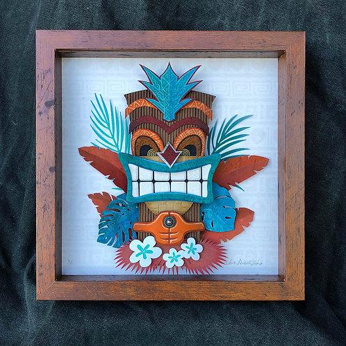 Paper Tiki Teal