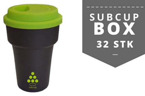 Subcup BOX (Becher + Deckel) 32 STK