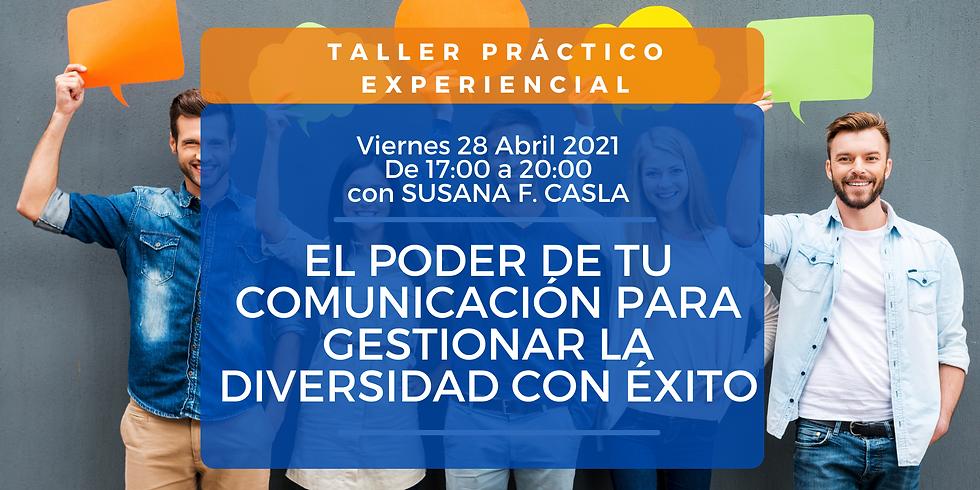 ¡COMPLETO! TALLER COMUNICACIÓN Y DIVERSIDAD