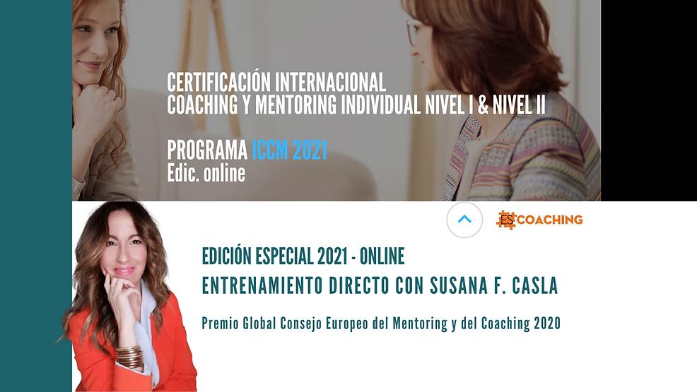 Certificación Internacional Coaching y M