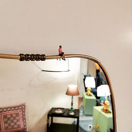 #littlelady #canyouseeme #mirror #50s #v