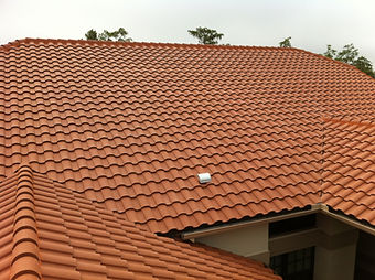 Tile roof installation, repair, and maintenance