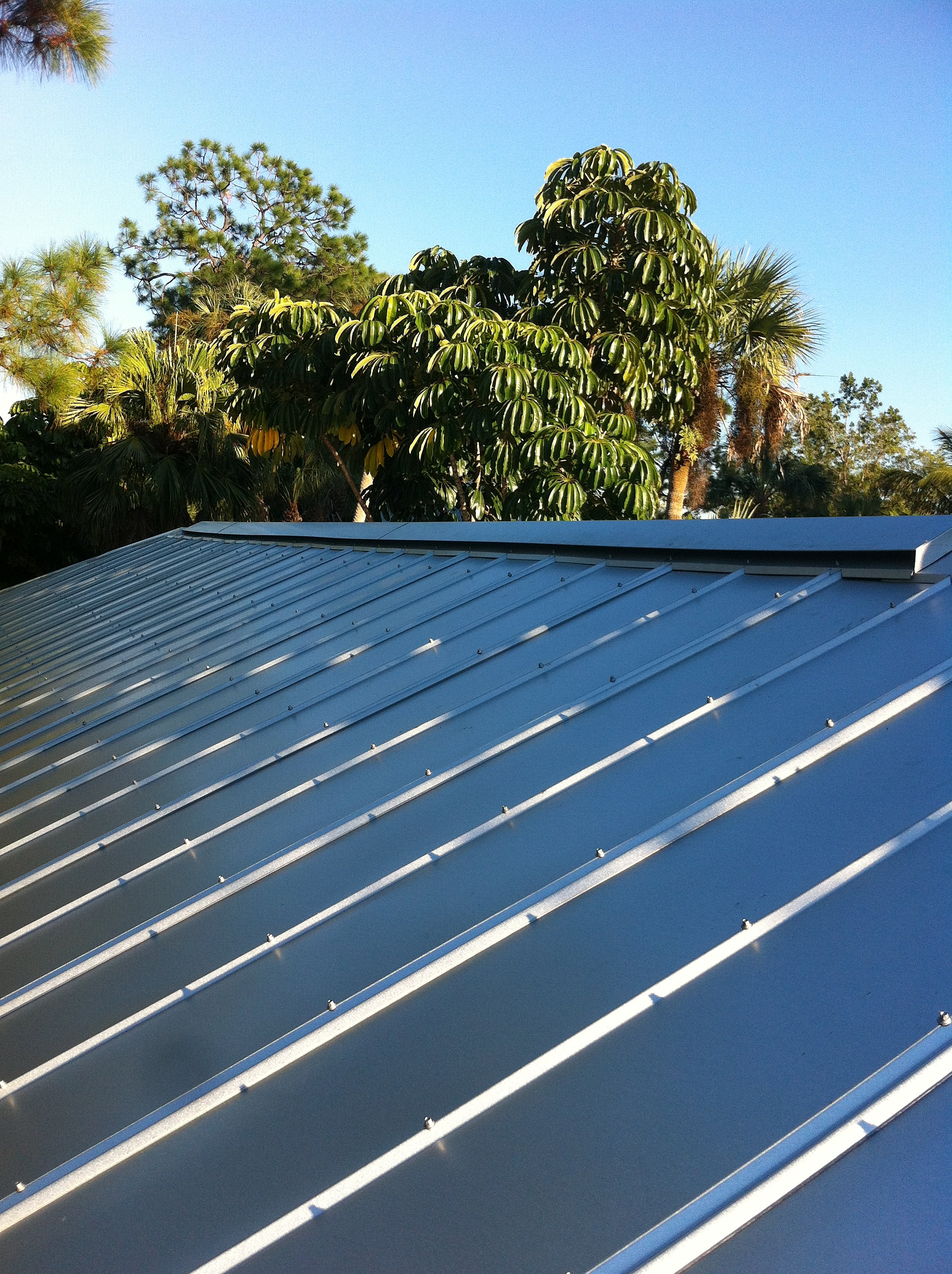 The Roofing Brothers Of Naples Corp 5v Crimp Metal Roof