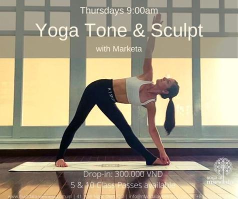 Yoga Tone & Sculpt