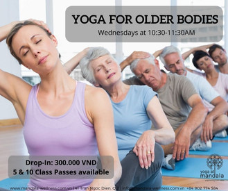 Yoga for Older Bodies