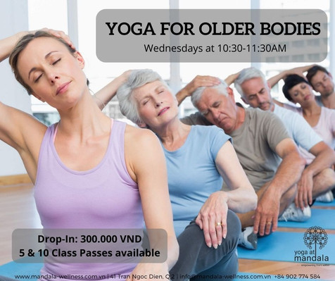 Yoga for Older Bodies