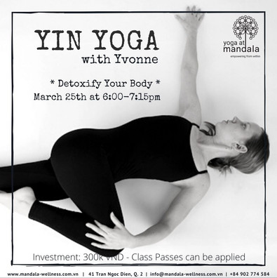 Yin Yoga Evening with Yvonne