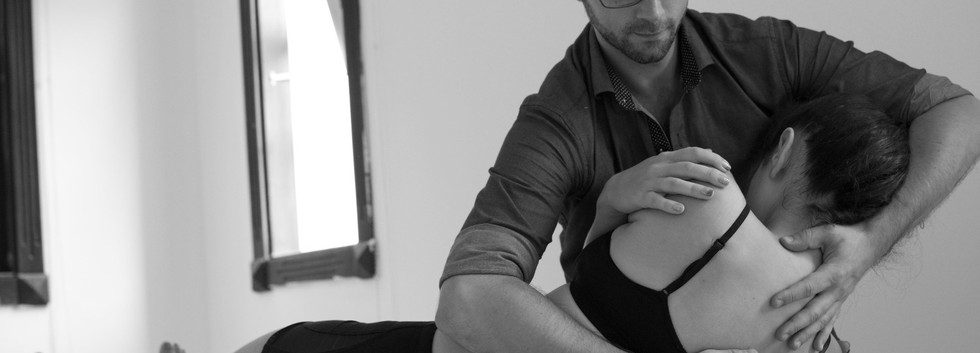 Osteopathy with Thomas