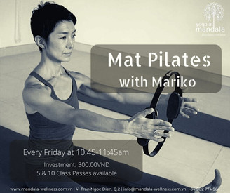Traditional Mat Pilates with Mariko