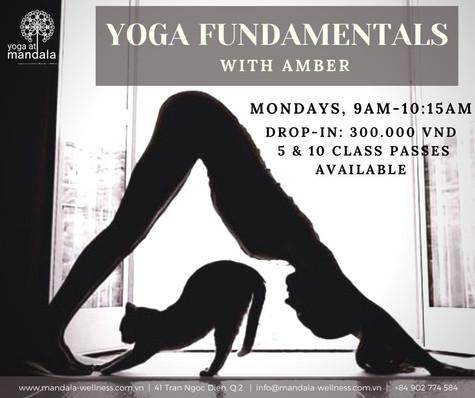 Yoga Fundamentals with Amber