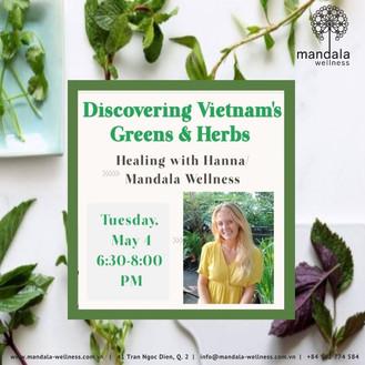 Discovering Vietnam's Greens & Herbs