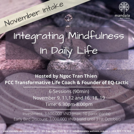 Intergrating Mindfulness in Life