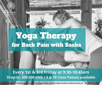Yoga Therapy with Sasha