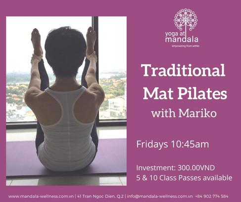 Traditional Mat Pilates