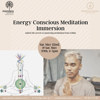 Energy Conscious Meditation Immersion