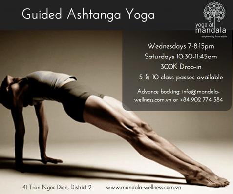 Guided Ashtanga Yoga