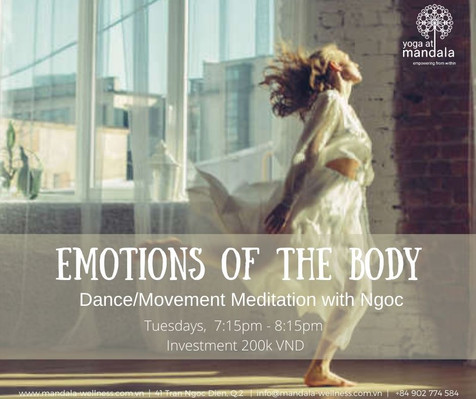 Emotions of the Body / Dance Meditation & Movement