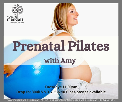 Prenatal Pilates with Amy