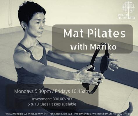 Mat Pilates with Mariko