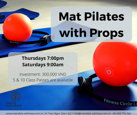 Mat Pilates with Props