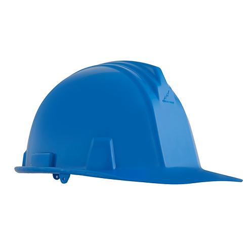 Casco Dielectrico con Rachet 4 Puntos de Apoyo Azul