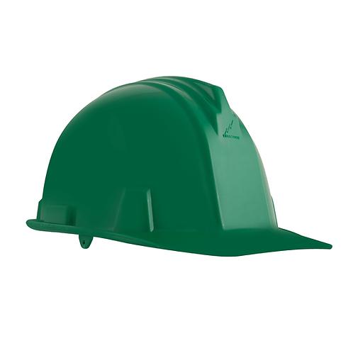 Casco Dielectrico con Rachet 4 Puntos de Apoyo Verde