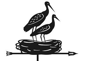Флюгер птицы