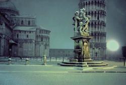 Pisa...il duomo-nevicata