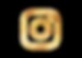 Instagram logo   Goud   by Liek.