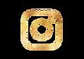 Instagram logo | Goud | by Liek.