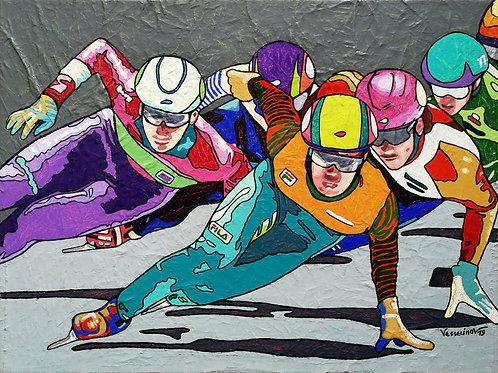 """""""Winter games, the great finale"""" Vlado Vesselinov"""