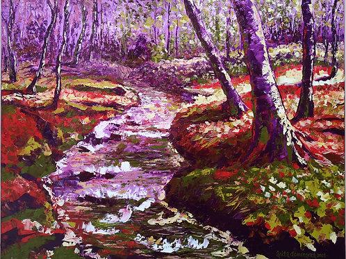 """""""Cyclamen forest"""" 2021 Anita Domeracka"""