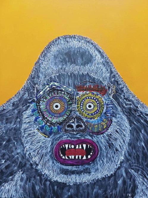 """The astonished gorilla"" 2021 Pierre Soufflet"