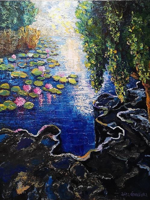 """Magic willow "" 2020 Anita Domeracka"