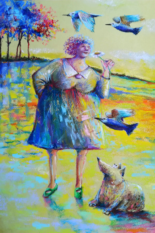 """The smell of spring "" Jolanta Okragla"