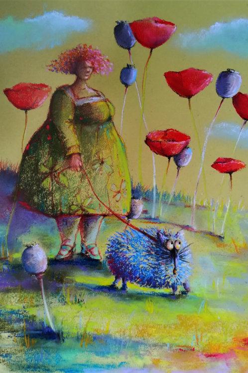 """""""In the poppy forest"""" Jolanta Okragla"""