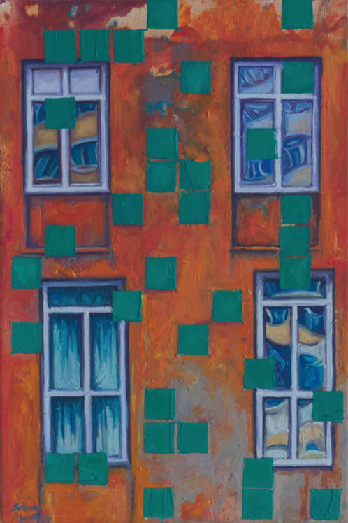 """Framed Windows"" 2019  Setenay Alpsoy"