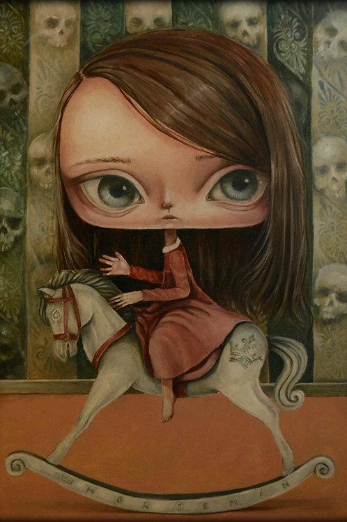 """White horse""Paulina Góra"