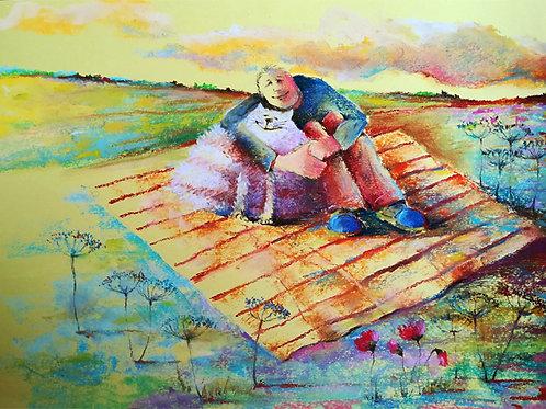 """Fluffy love"" Jolanta Okragla"