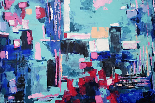 """""""Abstraction with the port"""" 2020 Anita Domeracka"""