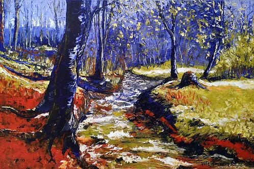 """""""Violet forest"""" 2021 Anita Domeracka"""
