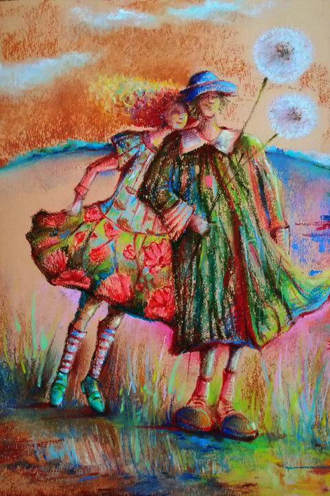 """Flowered"" Jolanta Okragla"