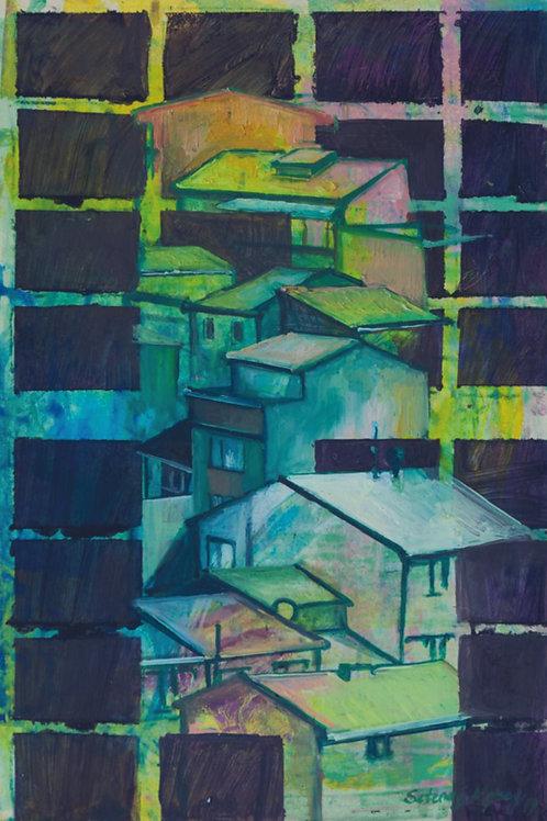 """Apartments, Windows and Roofs"" 2020  Setenay Alpsoy"
