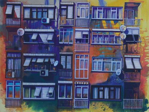 """""""Apartments near Bosphorus"""" 2020 Setenay Alpsoy"""