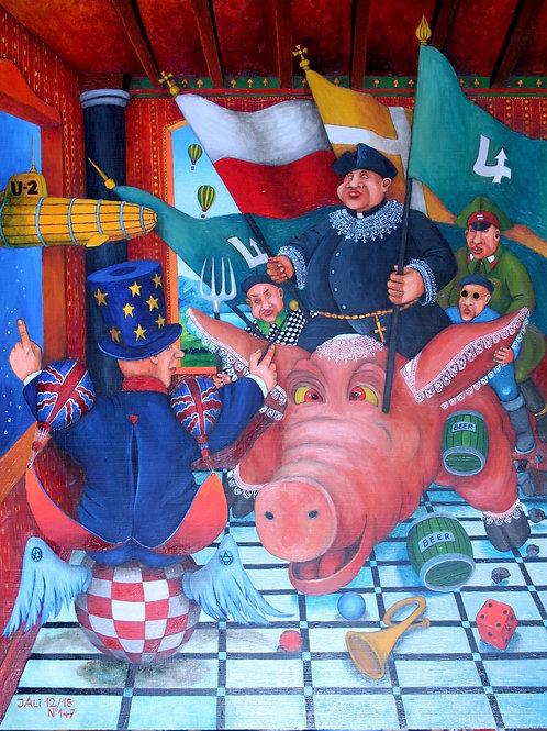 """Sovereign enters the European Staterooms ""Jacek Lipowczan  ""JALI"""