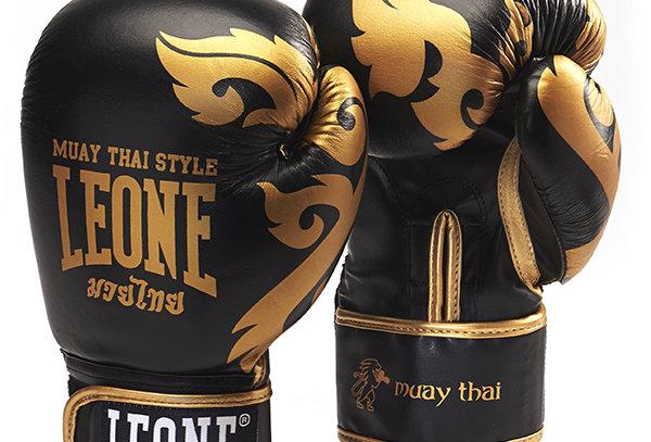 Leone 1947 Boxing Gloves GN031 MUAY THAI Black