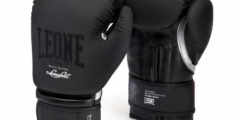 Leone 1947 Boxing Gloves Black Edition GN059
