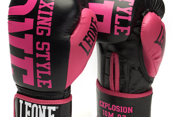 Leone 1947 Boxing Gloves GN055 EXPLOSION Fuxia 10oz/M