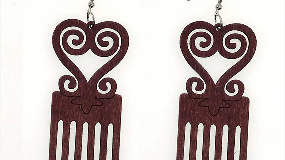 Craft Afro Earrings